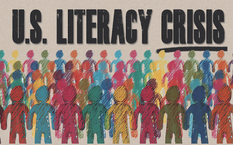 U.S Literacy Crisis Infographic